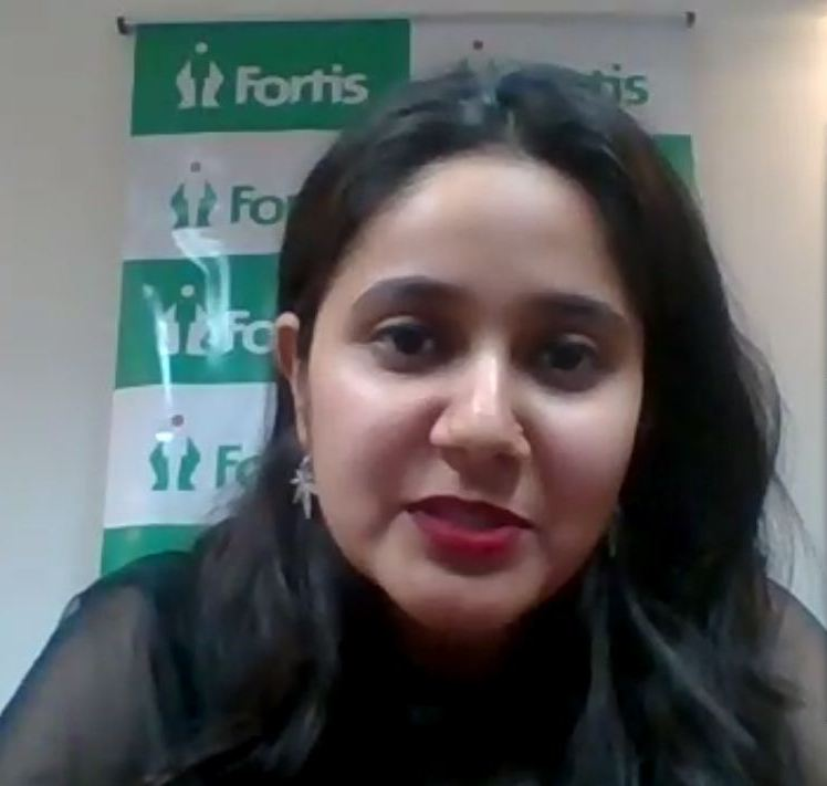 Fortis & Aryans conducted a webinar on Stress Management