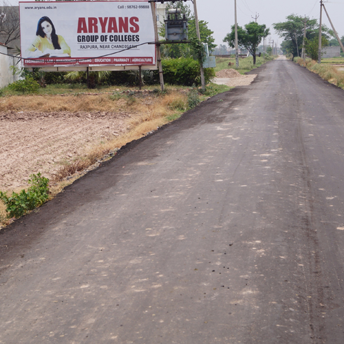 Punjab Govt. widened Aryans Campus link Road