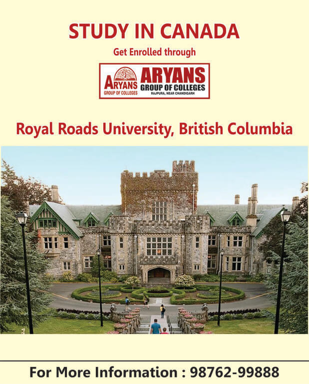 Royal Road University, British Columbia