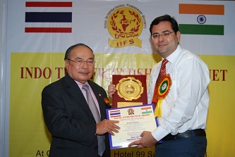 Thailand Minister Honored Chandigarh