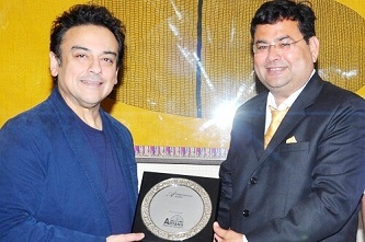 Adnan Sami at chandigarh aryans