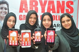 Aryans Android App by kashmiri Students